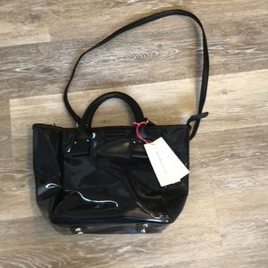NWT See by Chloe Faux Leather Convertible Tote